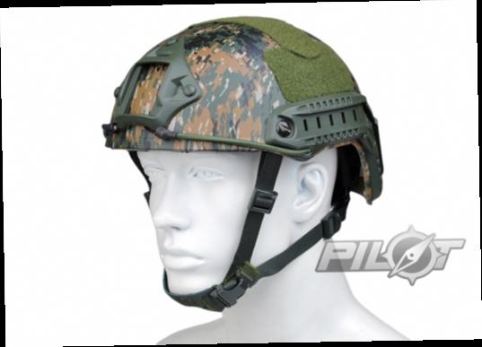 55.00$  Buy here - http://ali0yk.worldwells.pw/go.php?t=32277138968 - 2015 NEW Kryptek Typhon Pilot FAST Helmet Airsoft MH adjustable ABS helmet (PH0601-Woodland Digital) 55.00$