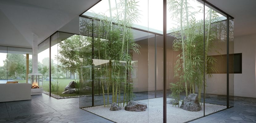C mo conseguir un jard n interior en casa decoraci n for Jardines interiores de casas modernas