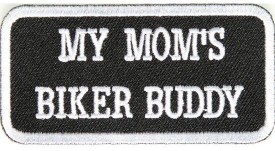 "/""BIKER GRANDMA/""/"" Sayings IRON ON EMBROIDERED PATCH//Bikers Vest"