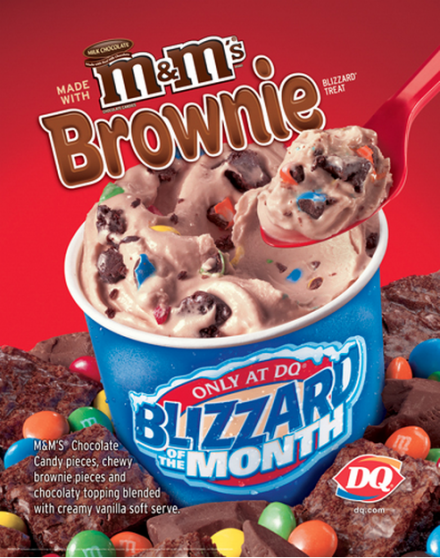 dairy queen smores blizzard