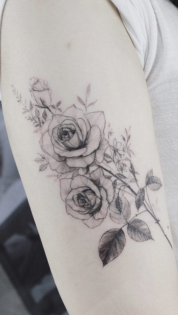 67 Feminine And Awesome Flower And Rose Tatto Ideas Page 47 Of 67 Tattoo Go White Rose Tattoos Rose Tattoo On Arm Colorful Rose Tattoos