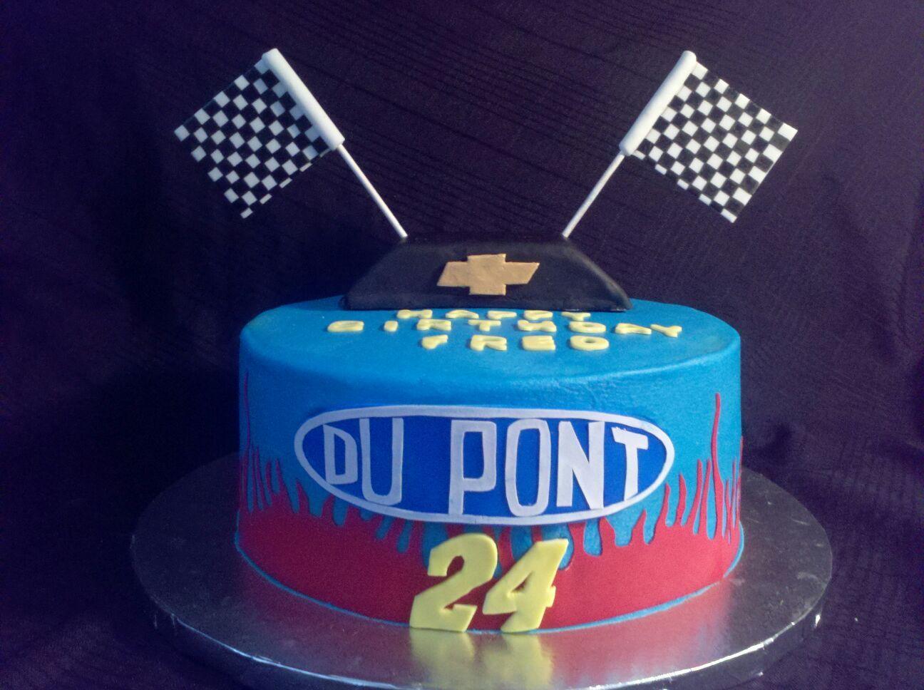 Jeff Gordon Cake Cupcake Cakes