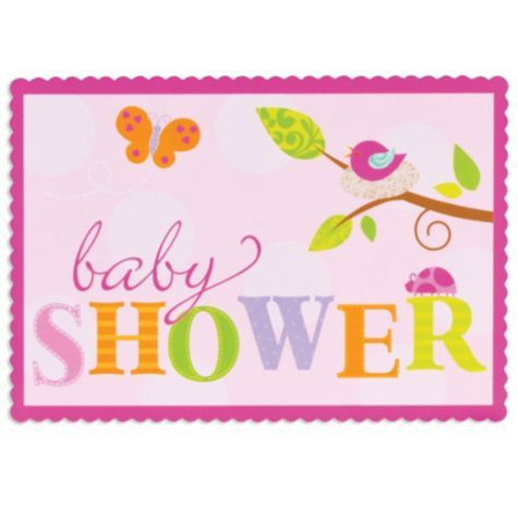 Tweet Baby Girl Baby Shower Invitations Party City 399 For 8 I