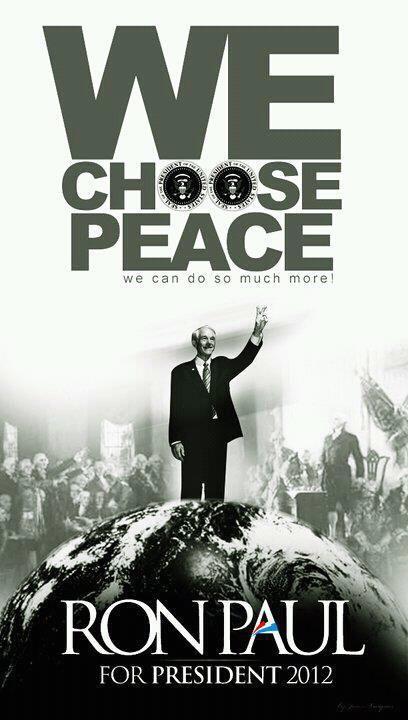 choose peace.