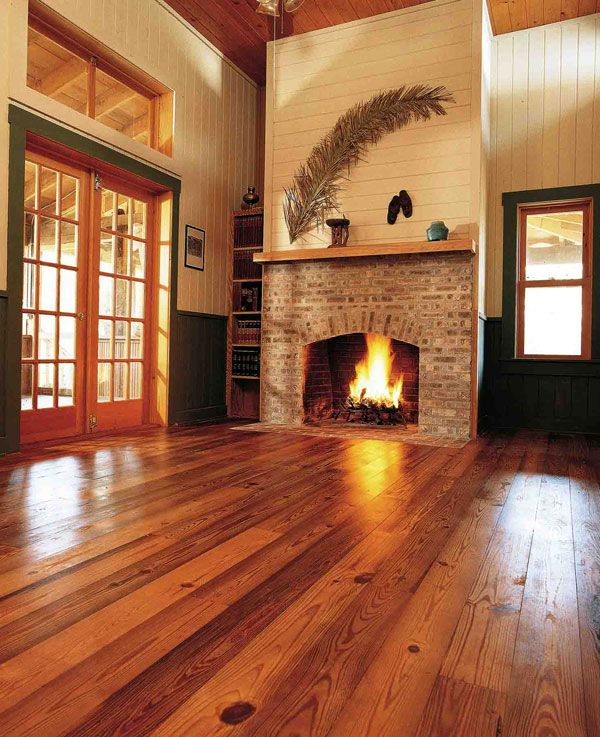 Antique River Recovered Midnight Heart Pine Wood Flooring Goodwin Company Heart Pine Flooring Diy Hardwood Floors Home