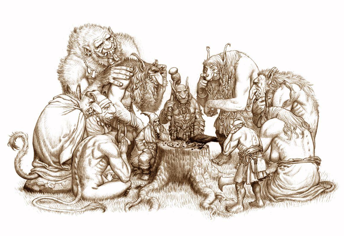 Drakar och Demoner: Trudvang