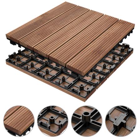 Home Improvement Patio Design Tile Floor