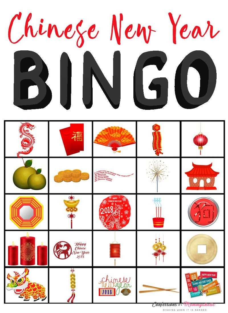 7 Ways To Make Time For Special Family Dinners Free Bingo Printable Recipe Chinese New Year Crafts For Kids Chinese New Year Crafts China For Kids