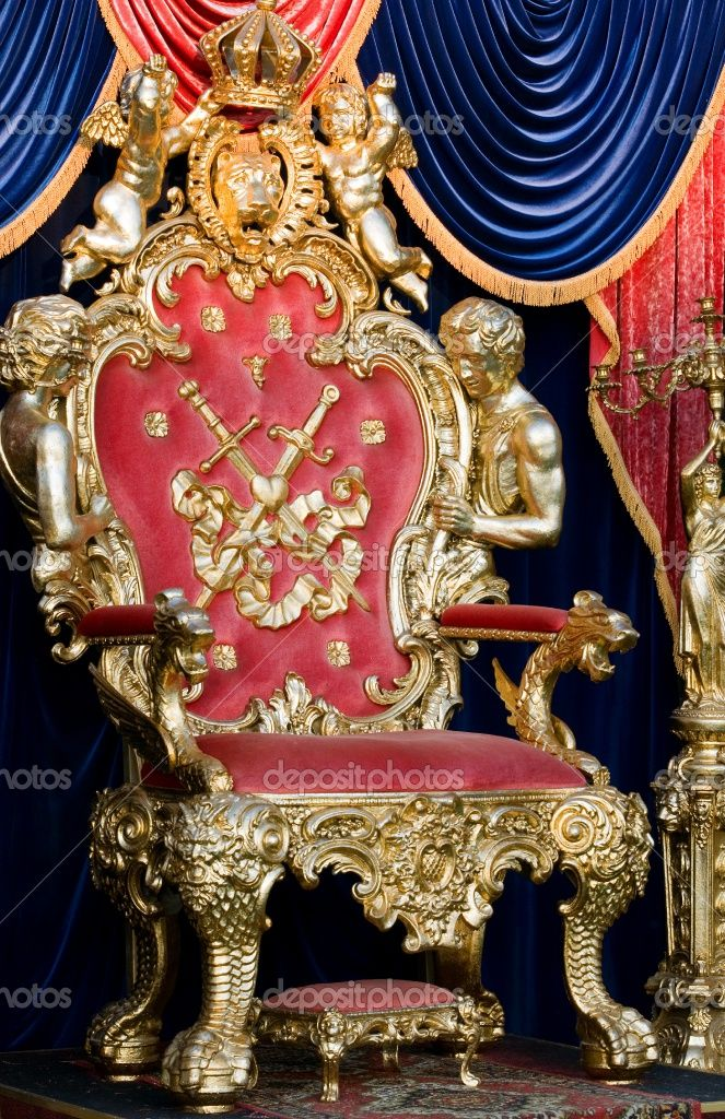 Royal throne stock photo artem merzlenko fantasy for Royal chair designs