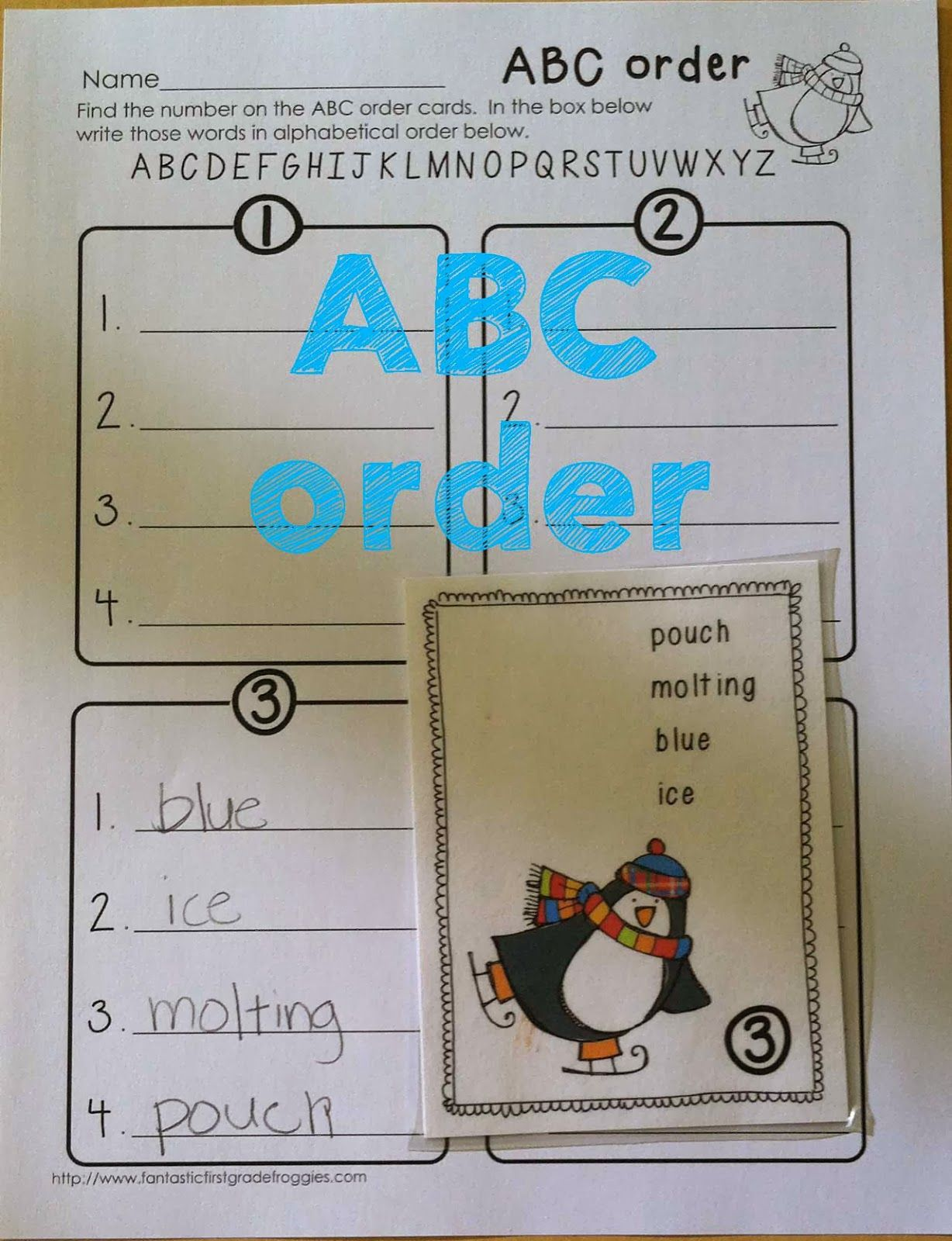 Penguin Math And Literacy Fun