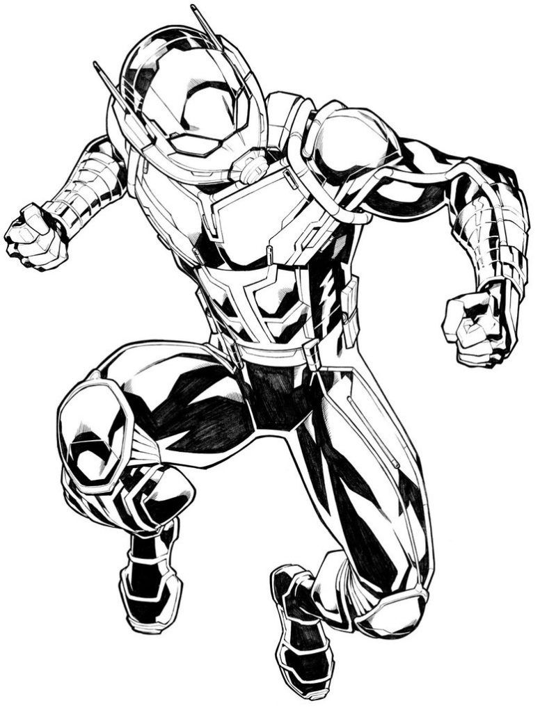 Ant Man Coloring Pages Best Coloring Pages For Kids Marvel Coloring Marvel Drawings Ant Man Marvel