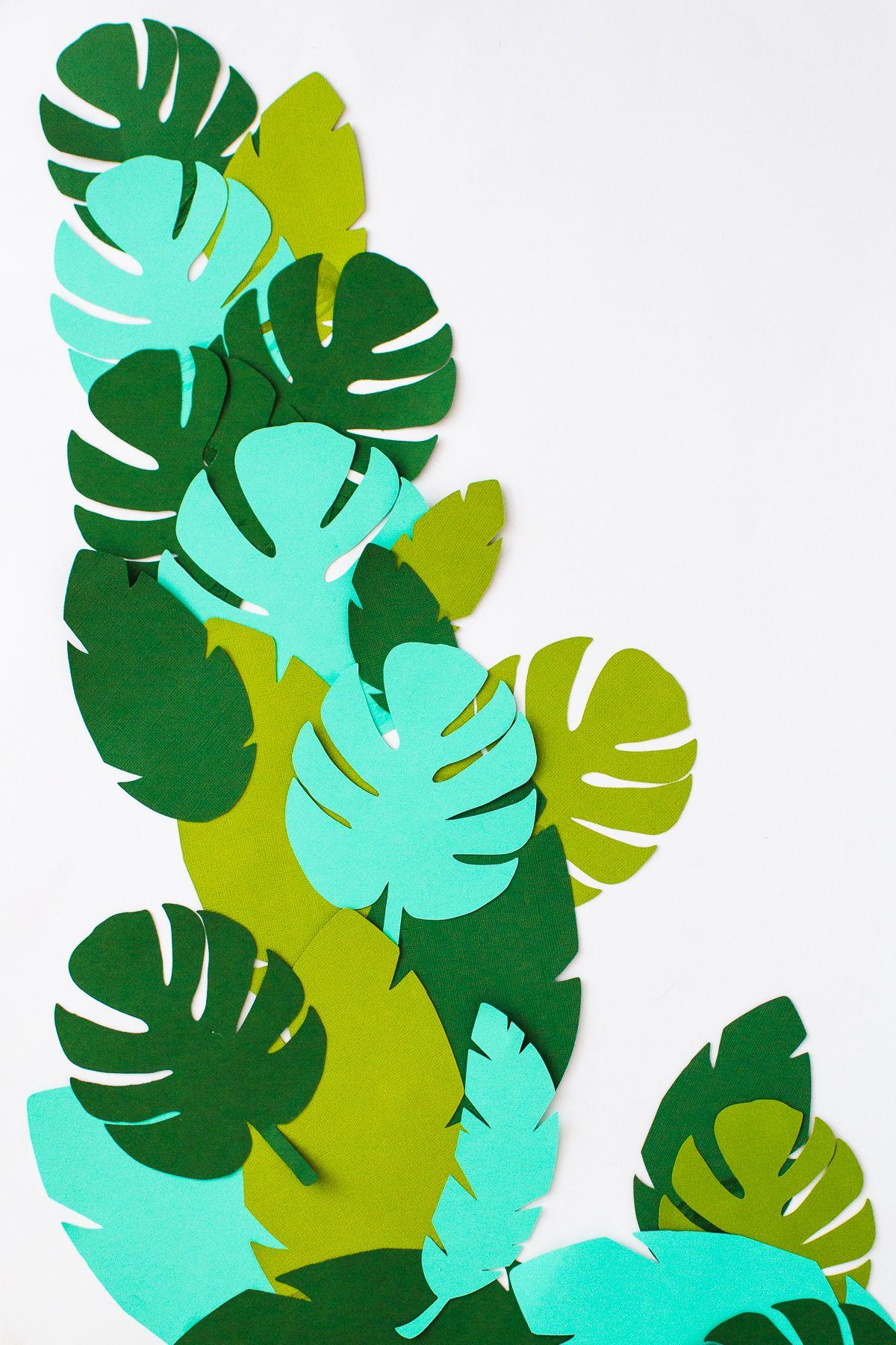 32bae7682507 DIY Tropical Garland