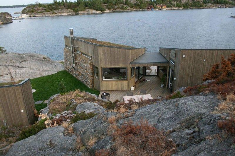 Buholmen Cabin By Skaara Arkitekter As Husdesign Arkitektur Hytte