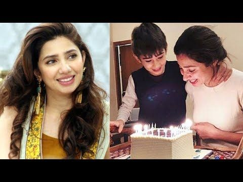 Mahira Khan's Birthday Celebrations with Her Cute Son ...