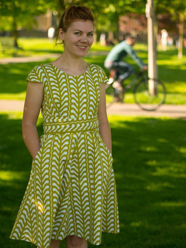 Summer Dress Dress Making Patterns Fashion Sewing