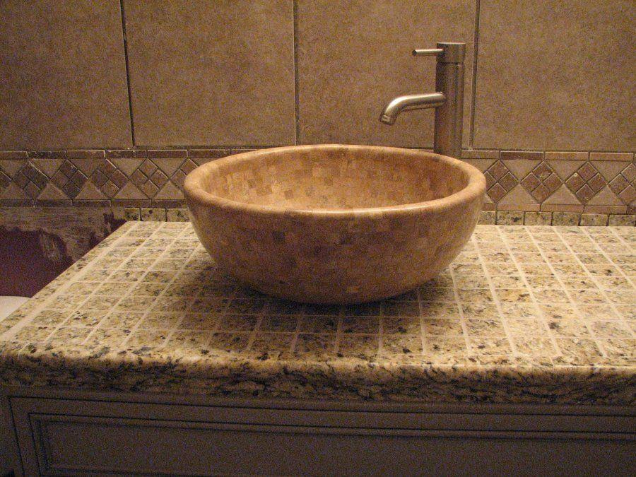 Bathroom Countertops For Vessel Sinks