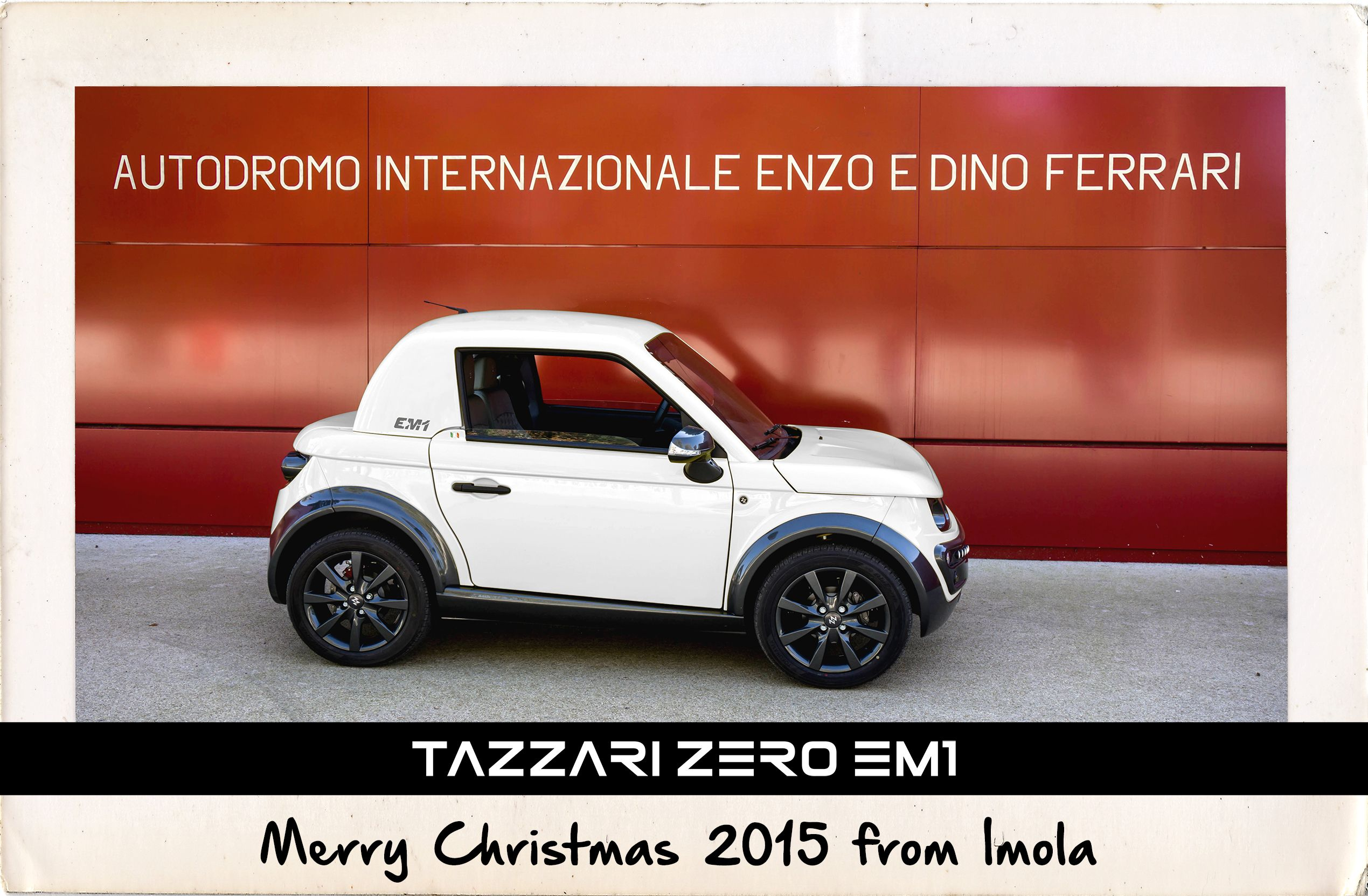 Merry Christmas 2015 from Imola WWW.TAZZARI-ZERO.COM #TAZZARI #ZERO ...