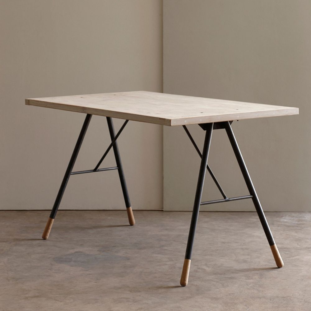 Tipped Writing Desk Reclaimed Work Desk Recycled