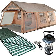 Northwest Territory Front Porch Tent - 18 x 12 with ... 10 person tent! & Northwest Territory Front Porch Tent - 18 x 12 with ... 10 person ...