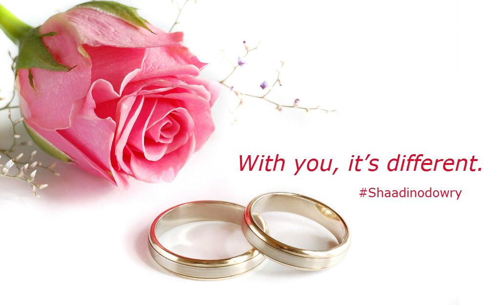With you, it's different. Wedding background wallpaper