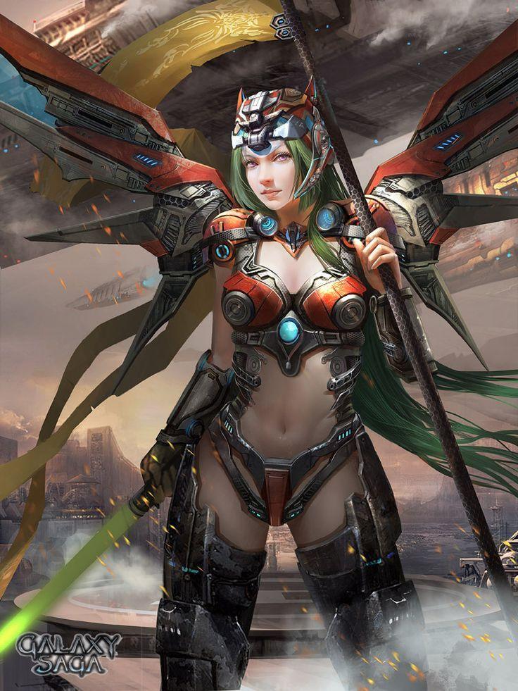 Future erotic fantasy