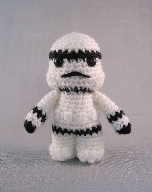Ravelry: Stormtrooper - Star Wars Mini Amigurumi pattern by Lucy ...