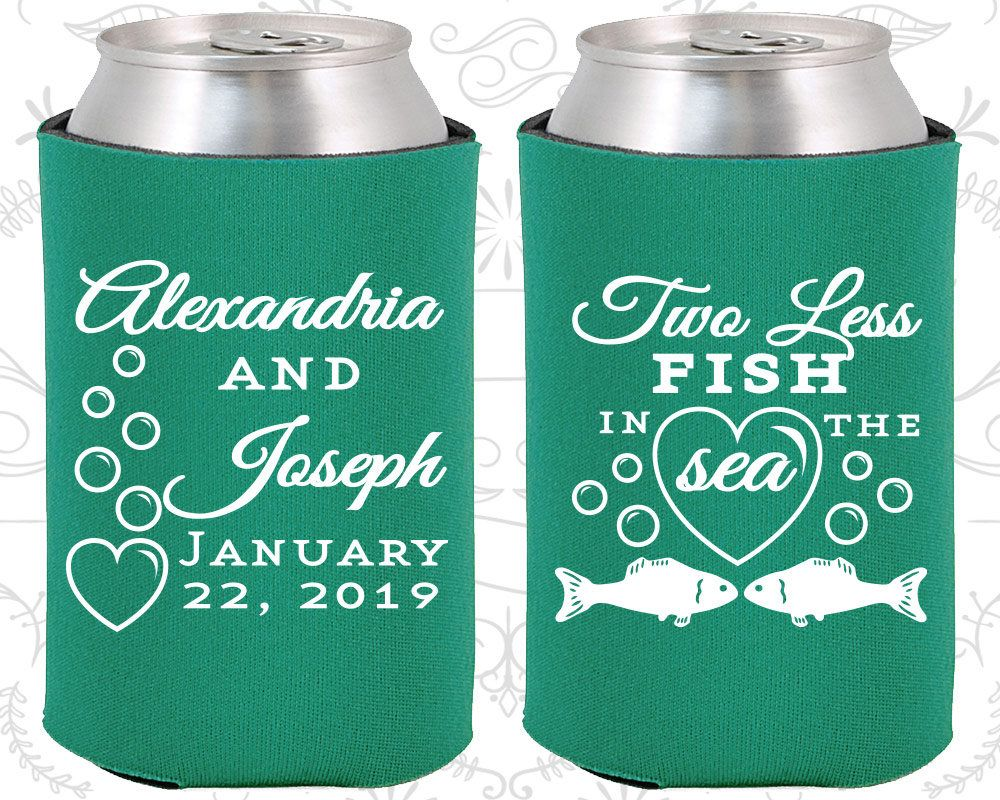 Wedding decorations for house january 2019 Two Less Fish in the Sea Wedding Decor Fisherman Wedding