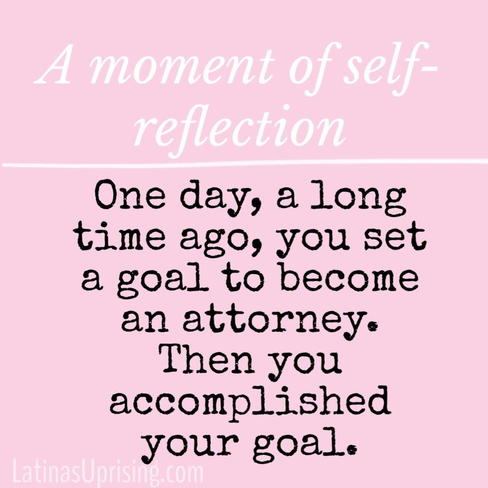 The Importance Of Self Reflection Law School Graduation Law Quotes Law School Inspiration