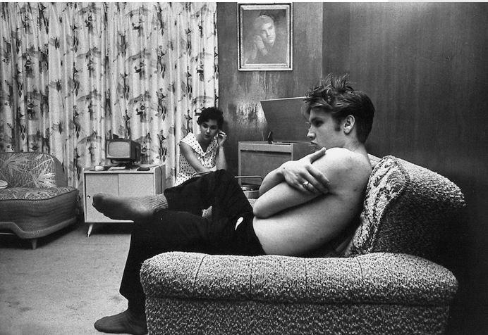 Elvis Presley 1956 by Alfred Wertheimer