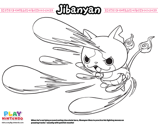Watch Yo Kai Coloring Pages Sketch Coloring Page Coloring Pages Super Coloring Pages Coloring Pages For Boys