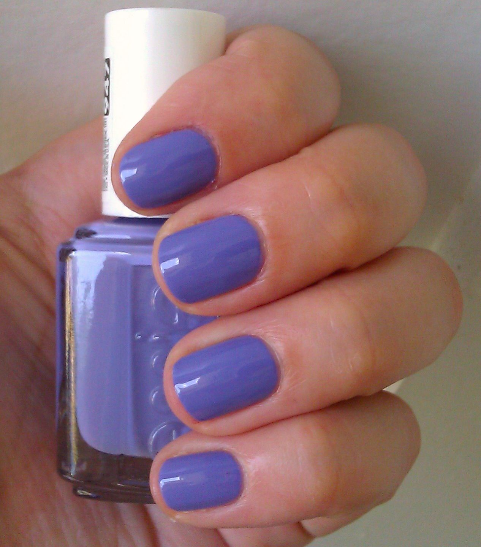 Polish or Perish: Pretty Periwinkle - Essie Boxer Shorts | Nails ...