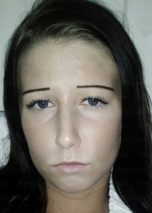 Eyebrows Weird Bad Ugly Flat 2 Bad Eyebrows Pinterest Bad