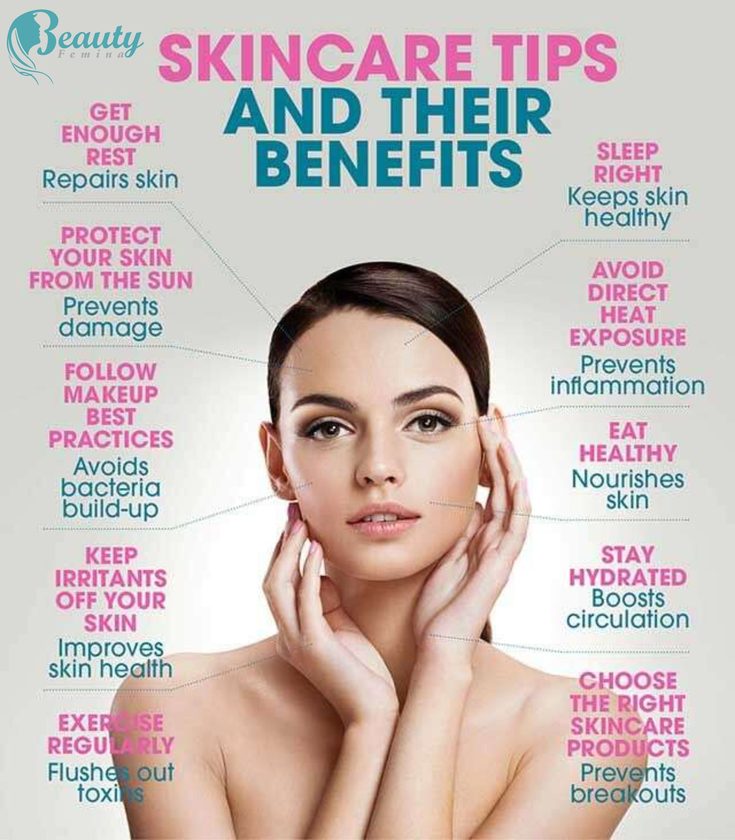 SkinCare Tips and their benefits in 11  Healthy skin care, Skin
