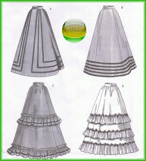 Renaissance Wedding Dress Costume History Mccall S By Heychica: Butterick 3418 Period Authentic Victorian Skirt/Dress