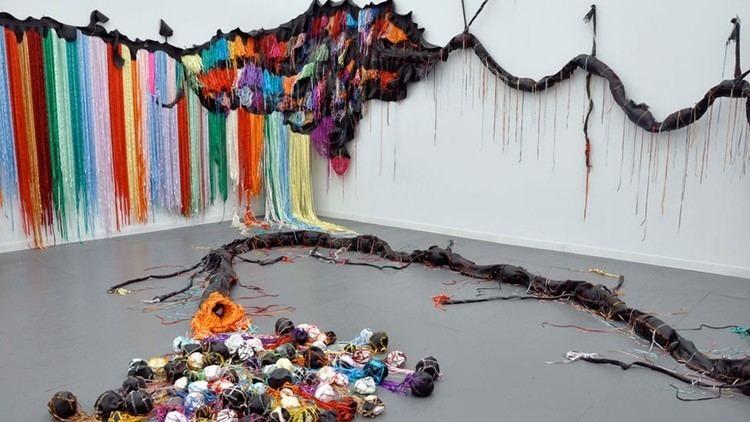Nicholas Hlobo is a South African artist based in