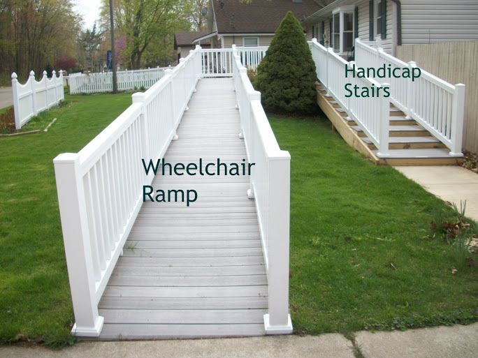 Functional Homes: Universal Design For Accessibility: ADA: Walker (Handicap)  Stairs Instead