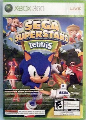 Sega Superstars Tennis Microsoft Xbox 360 2008 W Xbox Live Arcade Included Xbox 360 Video Games Xbox Arcade Video Games
