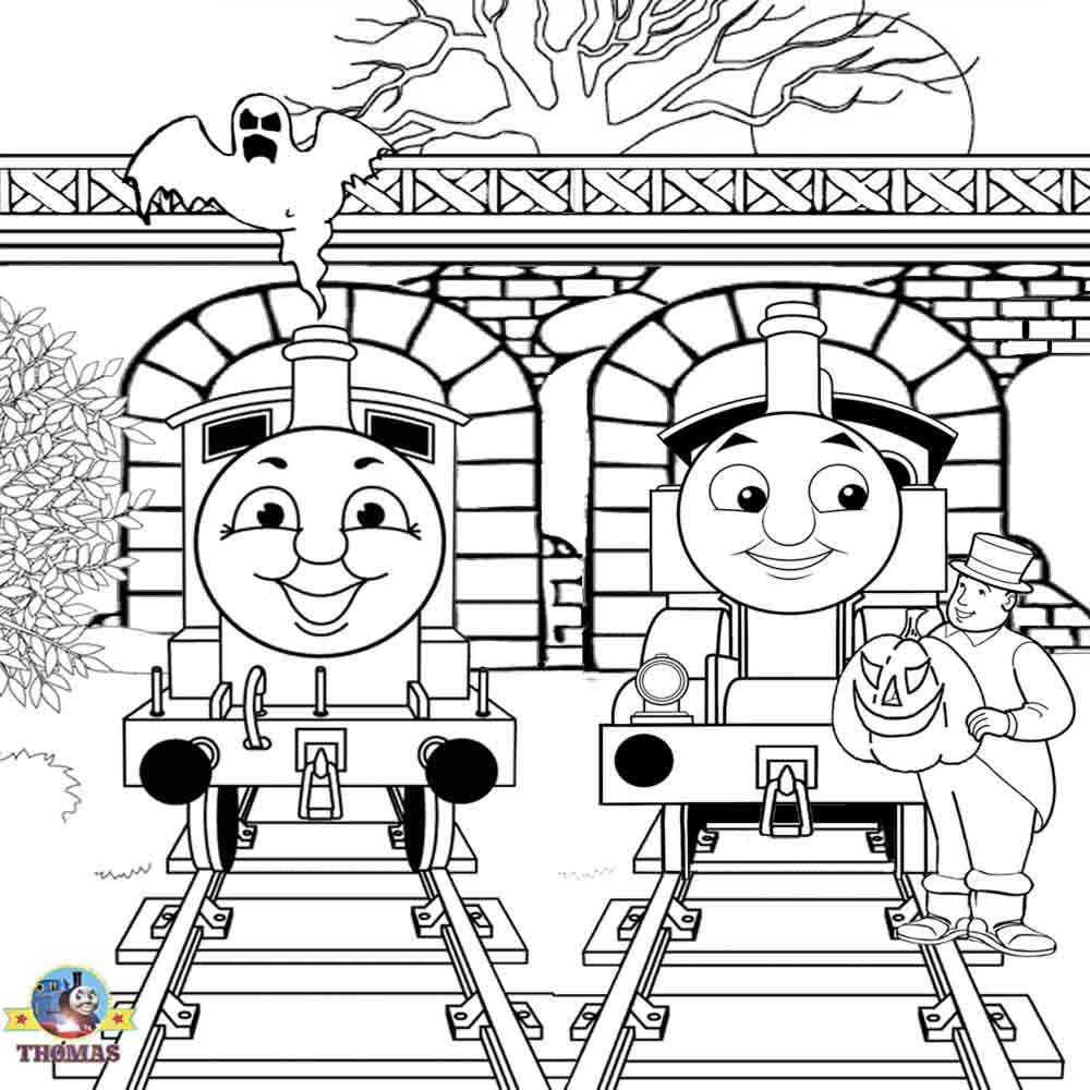 Thomas The Train Mine Colouring Pages Train Coloring Pages