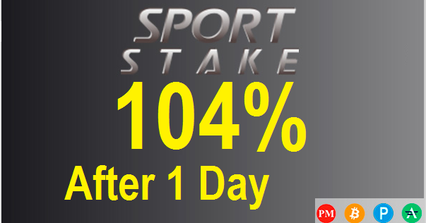 SPORT STAKE investment review | NEW HYIP | Investing, Investing