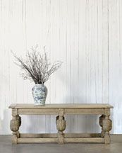 Finish the room off with a Ralph Lauren Home English Refectory Table