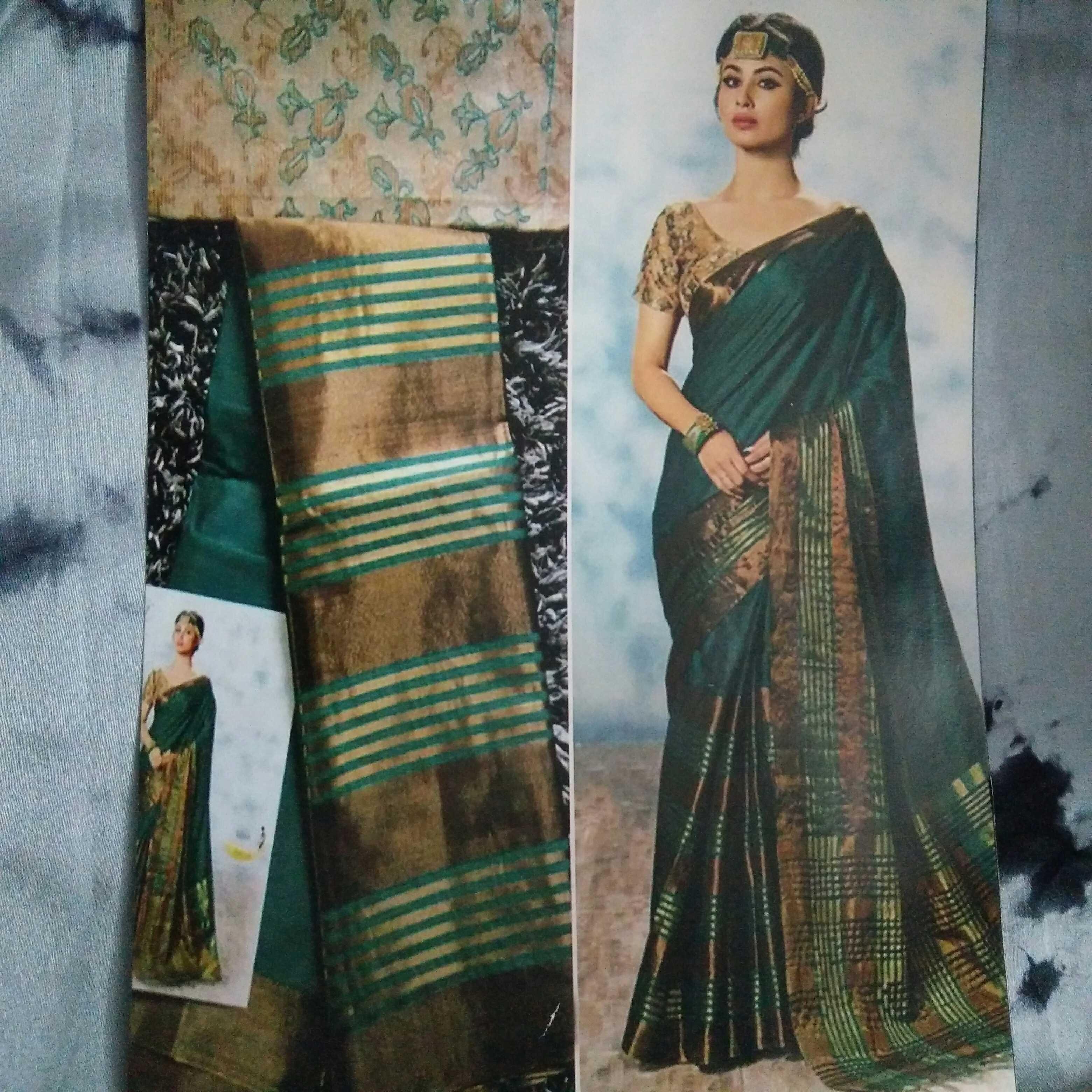 4fb597c18c409f Saree stuff  Cotton silk Wash  Hand wash. Occasion  Traditional ...