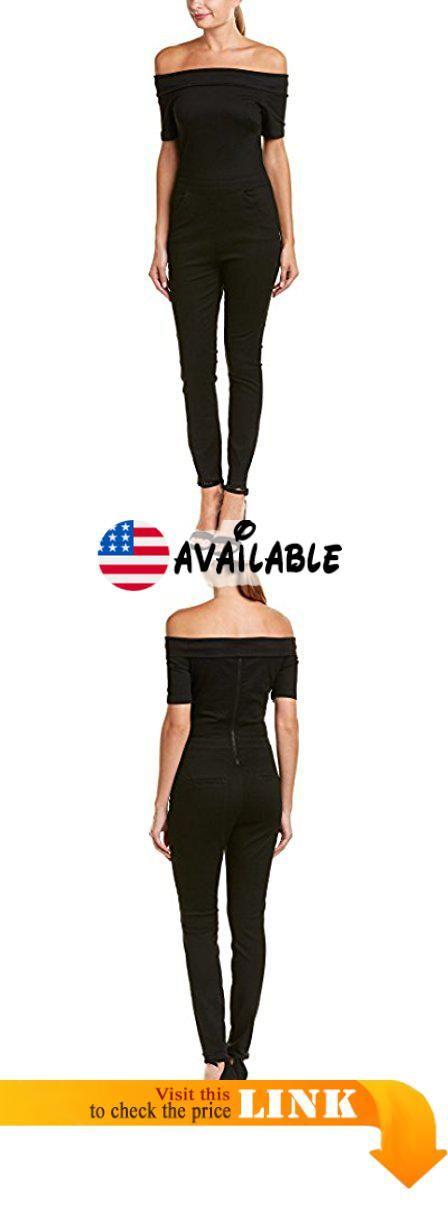 af1206a5dde0 3x1 Women s Off the Shoulder Jumpsuit