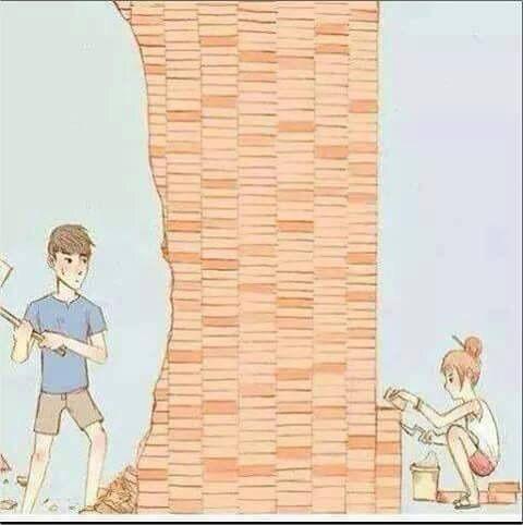 Image via We Heart It https://weheartit.com/entry/160683266 #afraid #boy #couple #feeling #fight #girl #love