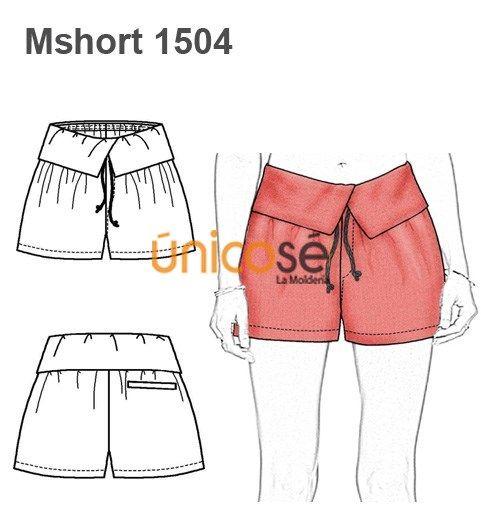 7e43360f7 SHORT PRETINA ANCHA MUJER | short | Ropa, Pantalones cortos de mujer ...