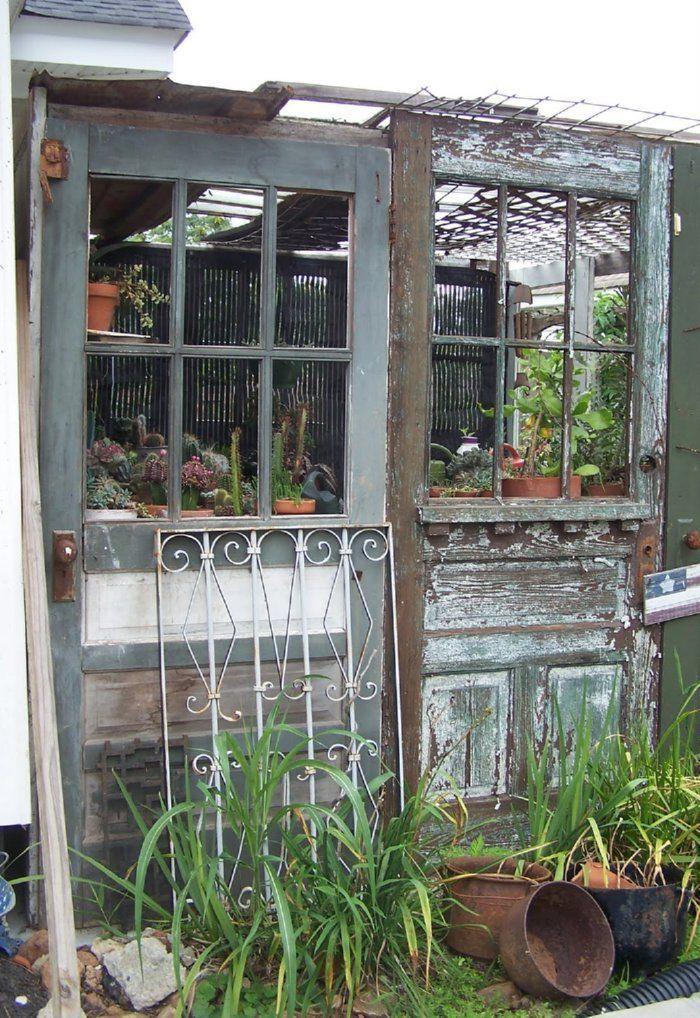 Des idées originales pour recycler vos vieilles portes en bois ...