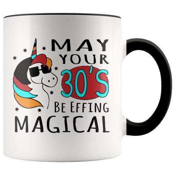 EFFING MAGICAL 30s Unicorn Birthday Mug