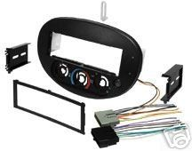 Stereo Install Dash Kit Ford Escort 97 98 99 00 01 Car Radio Wiring