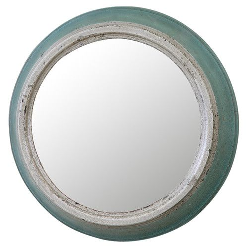 Found it at Joss & Main - Miami Round Mirror