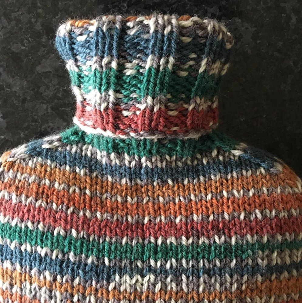 Hottie Hot Water Bottle Cover Knitting pattern by ...