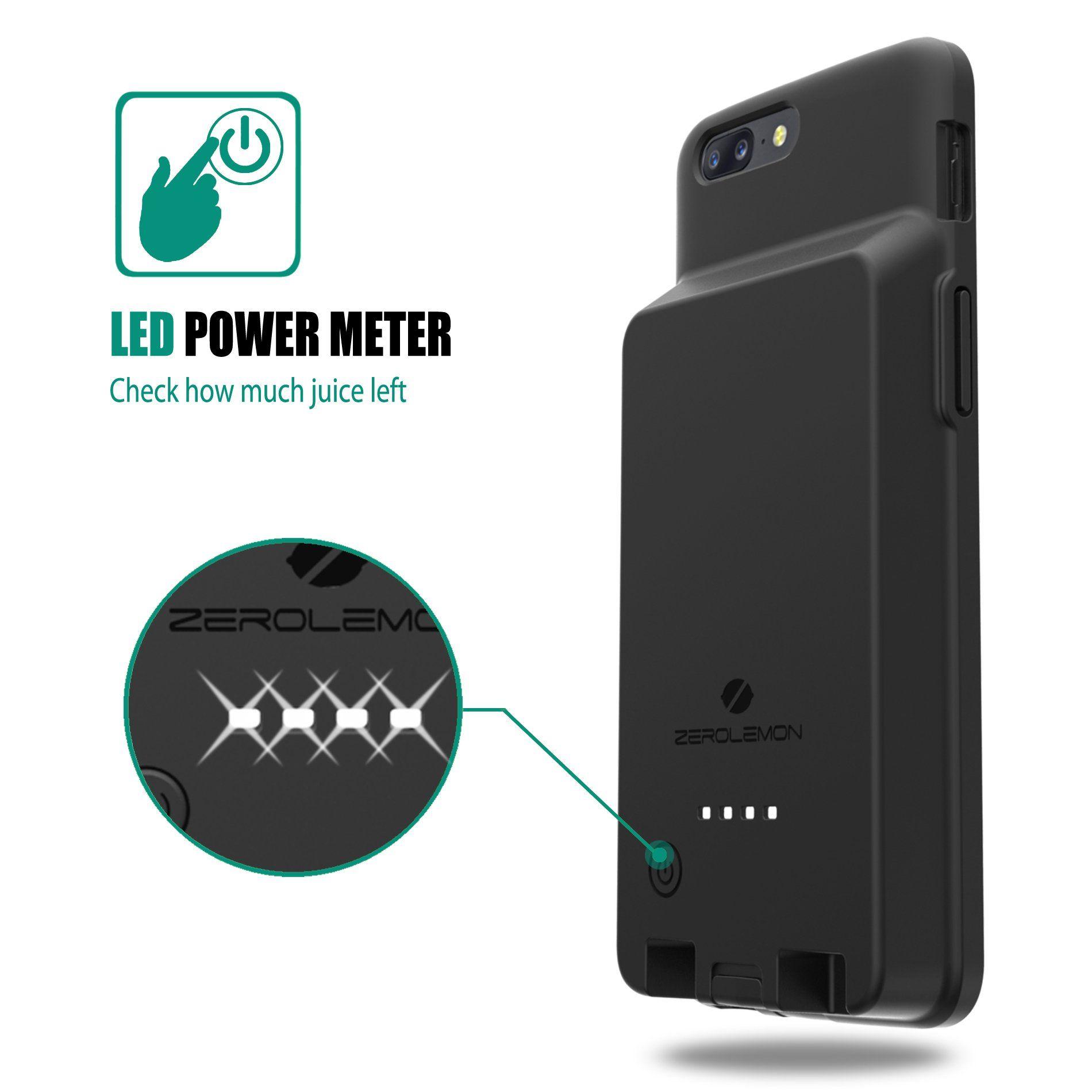new arrival 595ed 00c4c OnePlus 5 Battery Case ZeroLemon Ultra Power OnePlus 5 8000mAh ...